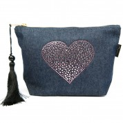 LTLBAG-Denim RS Amethyst Heart