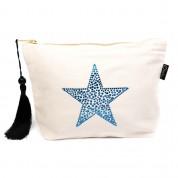 LTLBAG-Cream RS Blue Star