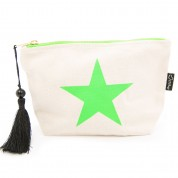 LTLBAG-Cream Neon Green Sar