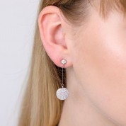 Sparkly Drop Cocktail Earrings
