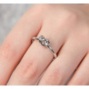 Friendship Knot Adjustable Ring