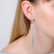 Cascading Sparkle Earrings