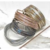 Metallic Sparkly Wrap Bracelet