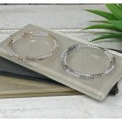 Pearl And Sparkle Wrap Bracelet
