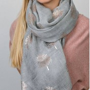 Mulberry Tree Foil Print Scarf