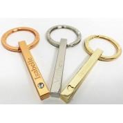 Personalised Bar Key Ring