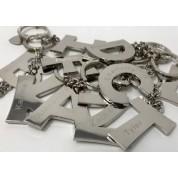 Personalised Alphabet Keyring