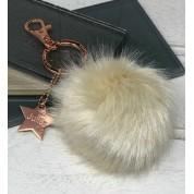 Personalised Faux Fur Pom Pom