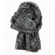 Scarf With Roses SIL Print