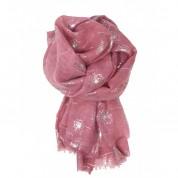 Scarf-Pink Dandelion