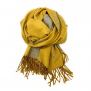 Mulberry Tree Wool Blend Mustard/Grey