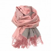Mulberry Tree Wool Blend Pink/Grey