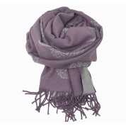 Mulberry Tree Wool Blend Purple/Grey