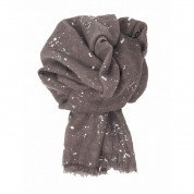 Scarf-Purple Splatter