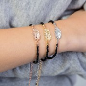 Feather Crystal Bracelet