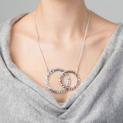 NHB-Double Ring Necklace