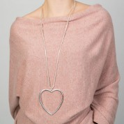 NHB-Large Heart Necklace