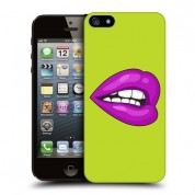 iPhone Green Lips