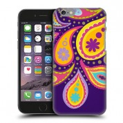 iPhone Purple Big Paisley