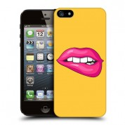 iPhone Yellow Lips