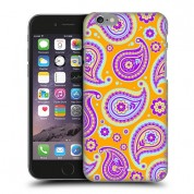 iPhone Yellow Paisley