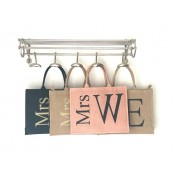 Mrs Jute Personalised monogram Bag