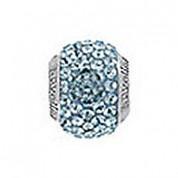 Genuine Lovelinks Carribean Blue Crystal Bead 11831000-24