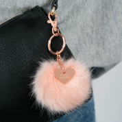 Personalised Faux Fur Pom Pom